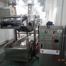 榴莲酥加工全自动油炸机【广州】 自动过滤油炸榴莲酥机