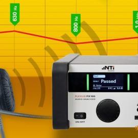 FX100 音频分析仪倍频程和 1/3 倍频程带频谱测量