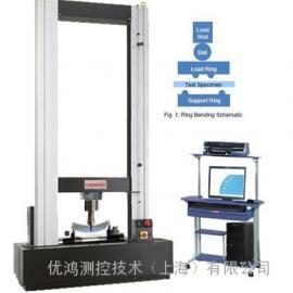 蓝宝石材料镜面静压力变形检测机