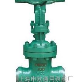 NKZ61H-16C-DN50焊接真空隔离闸阀