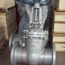Z41H-25C-DN200国标法兰闸阀WCB铸钢