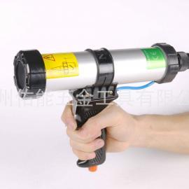 台湾进口气动胶枪 玻璃打胶枪 TK-3100