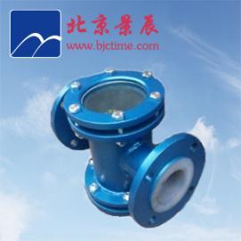 衬氟衬PO直通视镜生产厂家 内衬氟塑料直通管道视镜