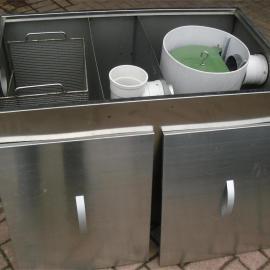 5吨304#不锈钢饭店用油水分离器