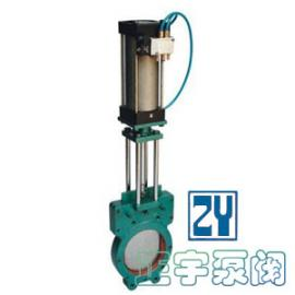 Z673X气动浆液阀,气动浆闸阀
