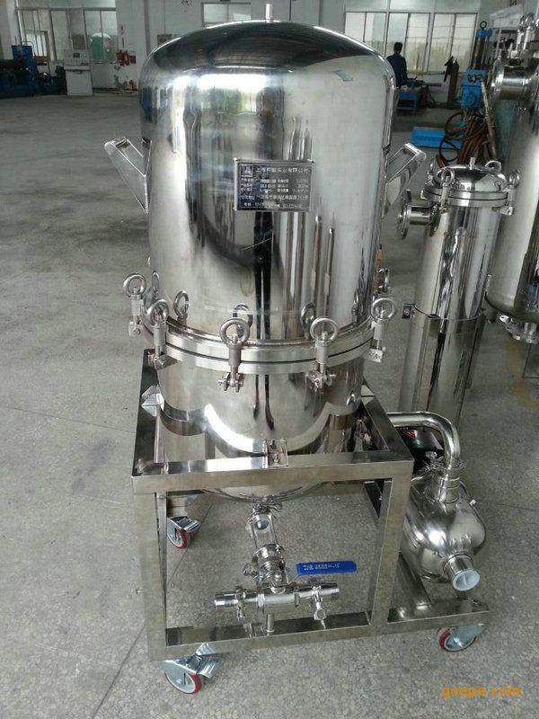 上海厂家供应硅藻土过滤器、立式硅藻土过滤器,品质保障
