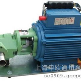 WCB-30微型二相防爆型铜齿轮输油泵220V