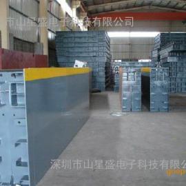 出口型120T大地磅生产厂 分体SCS地磅可集装箱路海运输