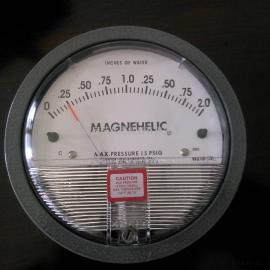 德威尔MAGNEHELIC差压表,Dwyer2000-60Pa