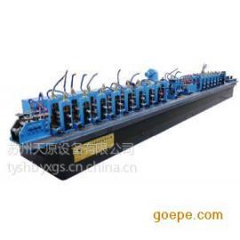 φ165管径全自动焊管机设备,天原精密直缝高频焊管机设备
