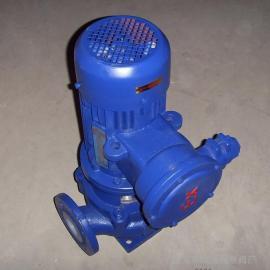 GBF40-160防爆型衬氟管道泵 衬氟管道化工泵