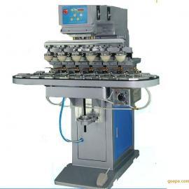 东莞力沃六色迷你转盘移印机、玻璃装饰品移印机