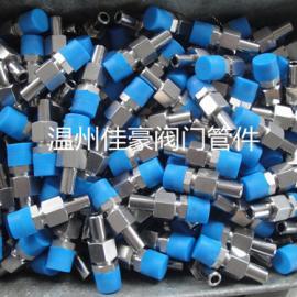 1/2NPT/14mm不绣钢焊接直通接头 焊接式活接头
