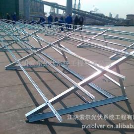 热销屋顶压载式铝合金光伏支架系统 压载式屋顶支架SR-BT-02