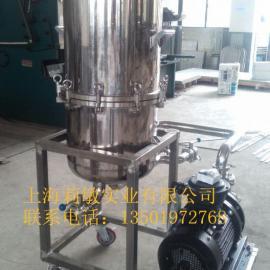 上海厂家直销立式硅藻土过滤器,大流量酒类过滤器,品质保障