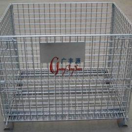 金属周转笼 钢丝物料笼 配件折叠笼