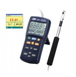 TES1341热线式数显风速风量计热线式风速仪生产厂家