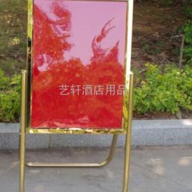 天津不锈钢立面指示牌订做价格,北京钛金迎宾牌水牌批发厂家