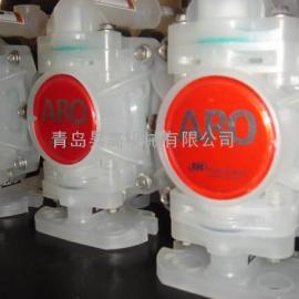 ARO 英格索兰非金属系列气动隔膜泵 四氟膜片 PD01P-HPS-PTT