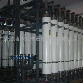 洁涵50T工业用超滤设备