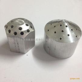 粉末回收反冲装置涂装配件 文氏管 铝合金1寸爆炸头