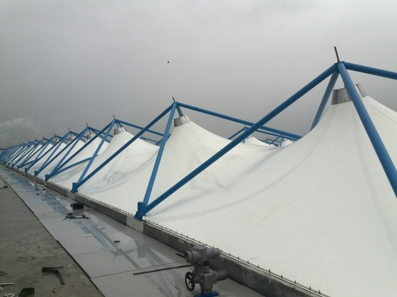 钢支撑反吊UV光固化膜结构