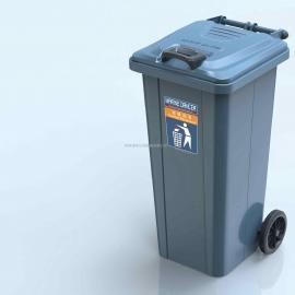 德澜仕金属垃圾桶DL-120