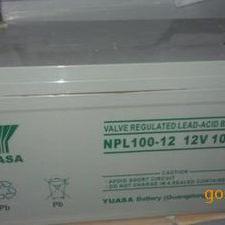 汤浅npl12v100ah蓄电池电瓶