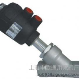 Y615W-16P-DN20内螺纹气动角座阀