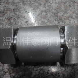 不锈钢GB/T3757系列大口径液压级船用卡套式管接头