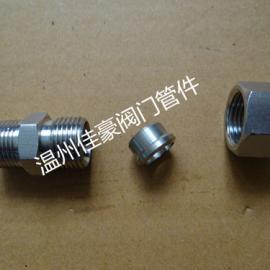304不锈钢锻打体单卡套式直通,弯通,直角,三通管接头