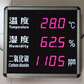 镭彩温湿度 二氧化碳显示屏