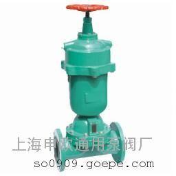 G6K41J-10-DN40常开式气动衬胶隔膜阀