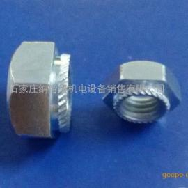 六角压铆螺母-六角斜花齿压铆螺母BN-M5-2