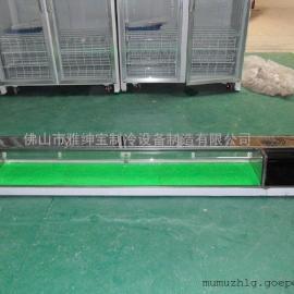 广州樱品连锁寿司店展示柜/单层寿司柜/保鲜寿司柜