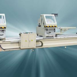钛镁铝合金门窗设备厂家/500X4200双头锯价格质量好