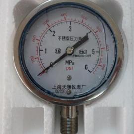 可代办校准证书不锈钢耐震压力表