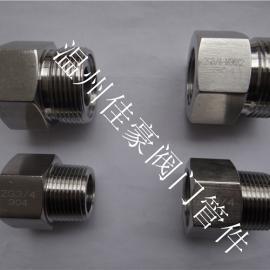 优质供应不锈钢内外螺纹压力表转换接头 仪表管连接活接头