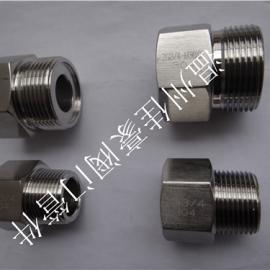精品打造304不锈钢内外螺纹丝扣转换接头 气源仪表过渡接头