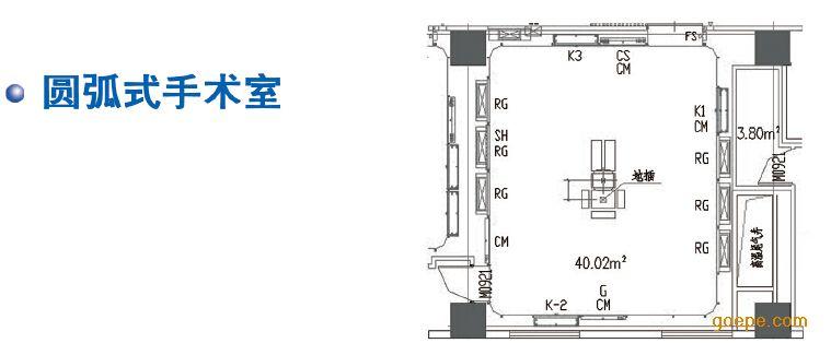 空调净化工程设计有限公司 产品展示 医疗工程 >> 医院手术室系统工程