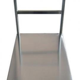 工厂仓库平板可折叠304不锈钢手推车优质生产厂商