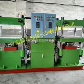 青岛双联自动压力机,60t四柱PC控制双头式压力机青岛厂家