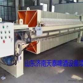 污水处理工程专用程控自动厢式压滤机厂家提供青上品牌