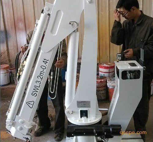 折臂式船用吊机csq1zb2/非标定制液压起重机图片
