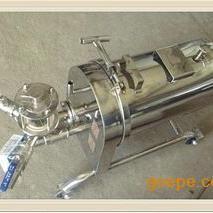 上海鑫滤厂家供应不锈钢硅藻土过滤器,WK220硅藻土过滤器