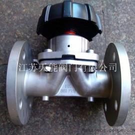 不锈钢法兰隔膜阀G41F-16P