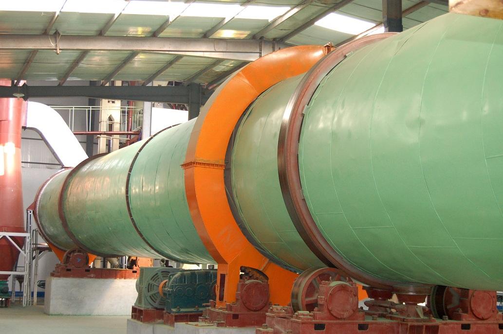 大型多管烟气回转褐煤干燥技术