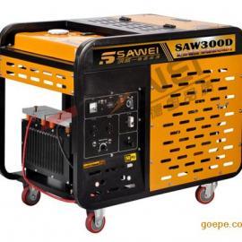 飒威动力SAW300DW移动式柴油发电电焊机