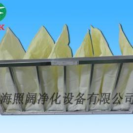 玻纤袋式过滤网 铝框F8袋式过滤网 初中效袋式过滤器