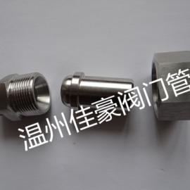 精心打造不锈钢对焊式直通中间 终端球面硬密封高压活接头